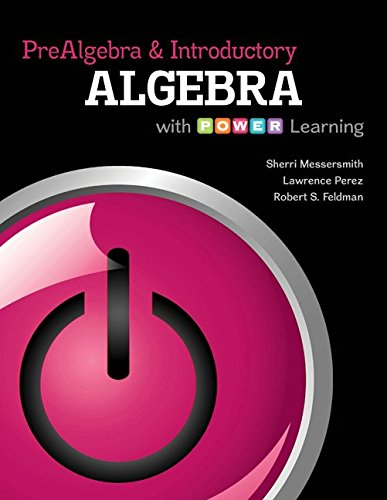 Prealgebra and Introductory Algebra with P.O.W.E.R. Learning with Connect hosted by ALEKS 52-Week Access Card