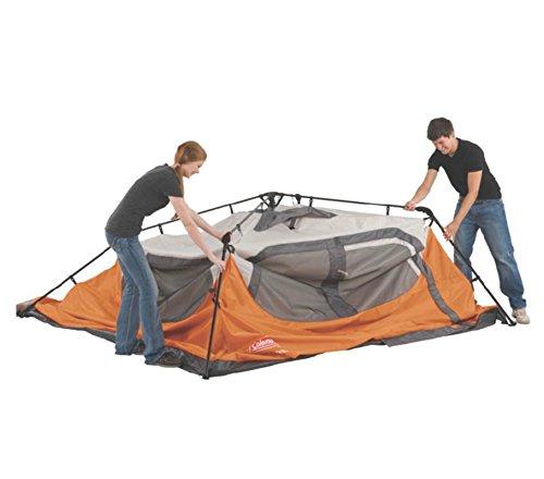 Coleman Waterproof 10 X 9-Feet 6-Person Instant Tent, Orange