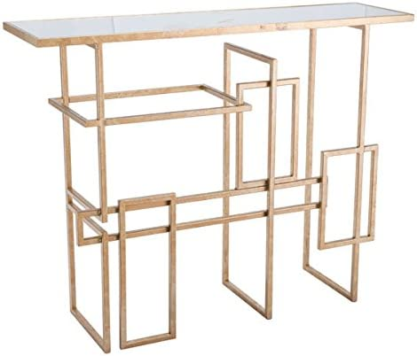 Zuo Multiples Console Table, Gold