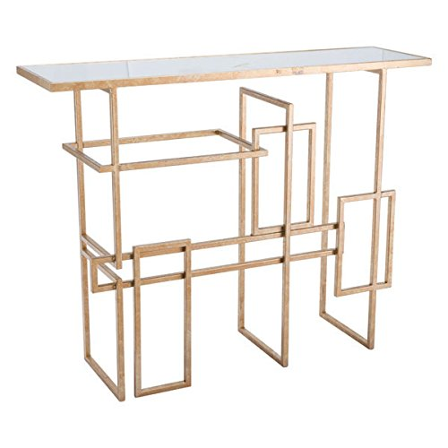 Modern Desk Modern Zuo (Zuo Multiples Console Table, Gold)