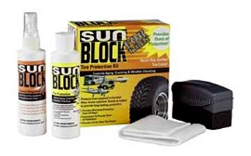 SunBlock For Tires® Tire Protection Kit