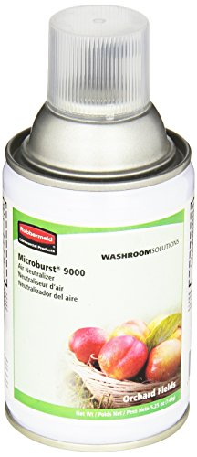 Rubbermaid Commercial Microburst 3000 Aerosol Air Freshener Refill, Linen Fresh, FG4012451 by Rubbermaid Commercial Products