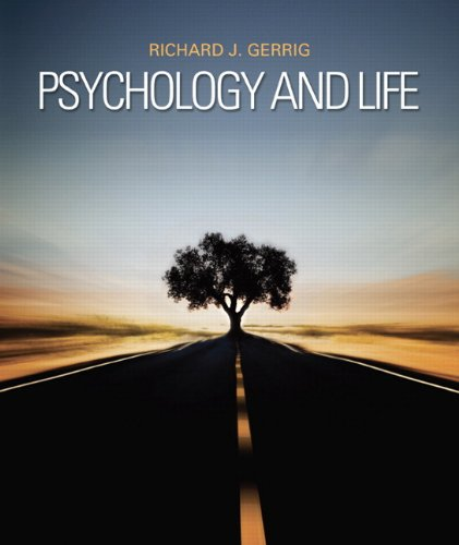 Psychology and Life (20th Edition)