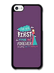 AMAF ? Accessories Frozen For The First Time in Forever Disney Animation Lyrics case for ipod touch 5 ipod touch 5