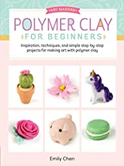 Start making beautiful crafts from polymer clay!Art Makers: Polymer Clay for Beginnersis your guide to this fun, easy kiln-free craft.Polymer Clay for Beginners introduces artists, art hobbyists, and polymer clay enthusiasts to this ...