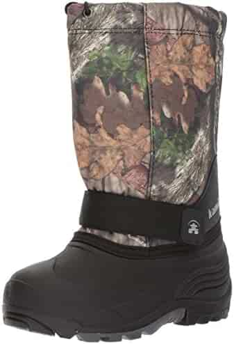 Kamik Rocket Cold Weather Boot (Toddler/Little Kid/Big Kid), Mossy Oak Country Camouflage