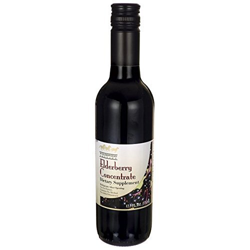 Elderberry Juice Concentrate 12.5 fl. oz. by Wyldewood Cellars Inc. (Wyldewood Cellars Inc compare prices)
