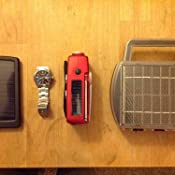 Amazon.com: Solar Powered Battery Charger Charges 4 D, C