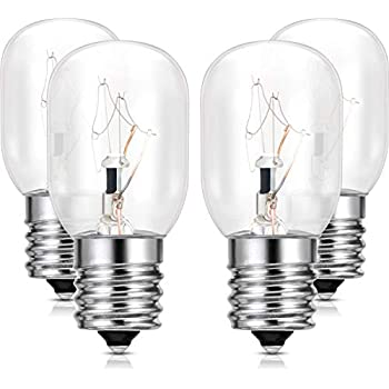 OEM 2 Pack of Whirlpool Maytag Estate Exterior Microwave Light Bulbs  8206232A