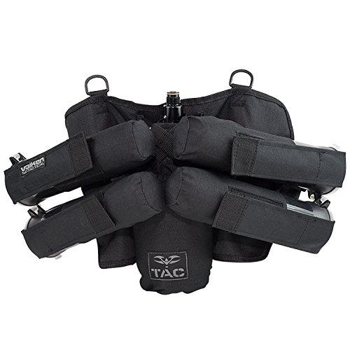 Valken Paintball 4+1 Harness -Holds 4 Pods Plus 1 Tank - - V-tac Pod 3