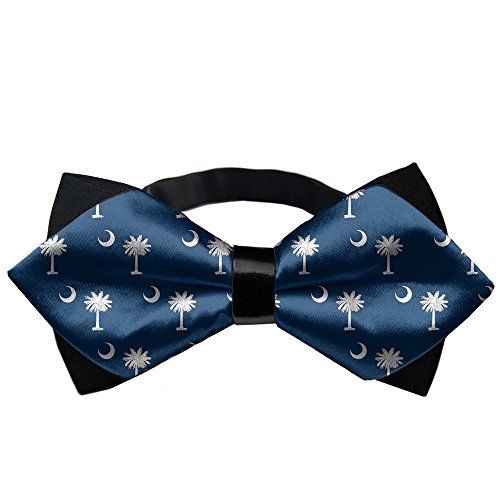 (YEAHSPACE Mens silk Bowtie Gift South Carolina Flag Bow Ties)