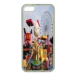 Iphone 5s Case,Hard PC Iphone 5s Protective Case for Ultimate Protect iphone 5s with a Hello Kitty theme park
