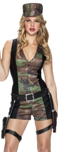 Delicious Special Ops Costume, Camo, X-Small