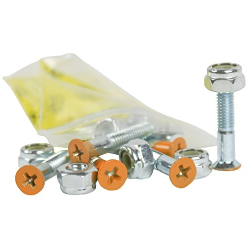 Dimebag Skateboard Hardware 1-Inch, Orange