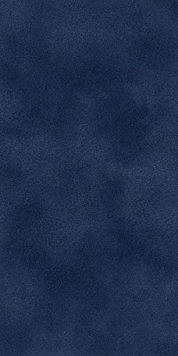 Navy Blue Suede Texture 32'' x 40'' Photo Mat Board Full Sheet - Uncut (10-Sheets) by Poster Palooza