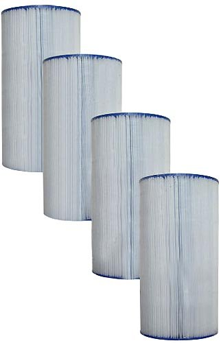 Filbur FC-6460 Antimicrobial Replacement Filter Cartridge for Clean and Clear Plus 240 Spa Filter, Pack of 4 by Filbur