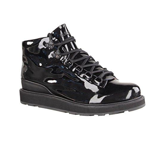 Blackstone MW76 nerón - Zapatos De Mujer Botínes, Negro