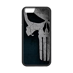 "LSQDIY(R) The Punisher Logo iPhone6 4.7"" Case, Custom iPhone6 4.7"" Phone Case The Punisher Logo"