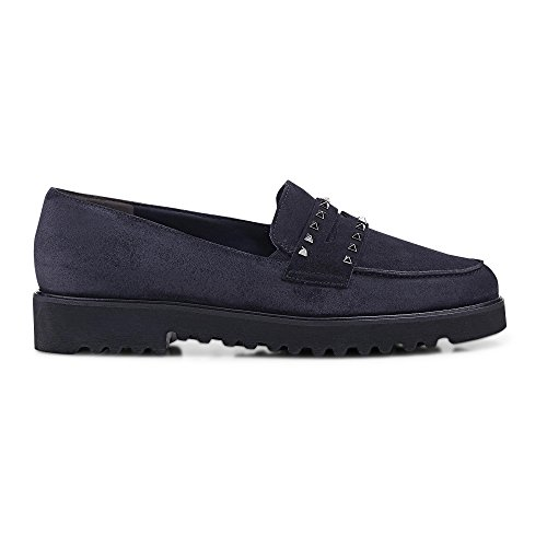 Paul Loafer Navy Chunky Suede 2424 Green YBprHqY