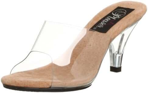Pleaser Women's Belle-301 Sandal