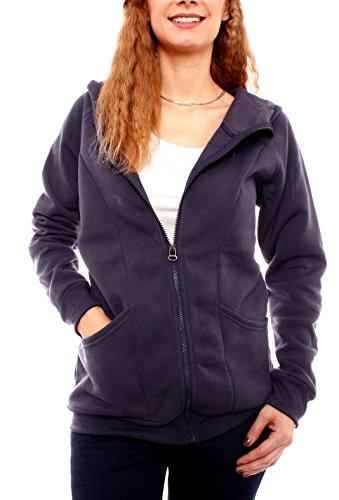 Easy Young Fashion - Chaqueta - para mujer azul oscuro