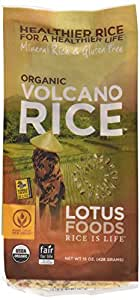 Lotus Foods Organic Volcano Rice, 15-Ounce (Pack of 6)