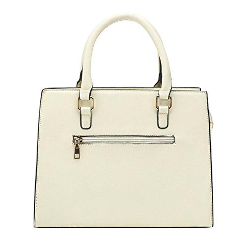 Women Newbestyle Handbags 5PCS Newbestyle Beige Crossbody PU Women Wallet Set qCERpw