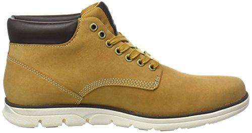 Menns hvete Nubuck Timberland Boots Bradstreet Beige 231 Chukka AvaqZUwZ