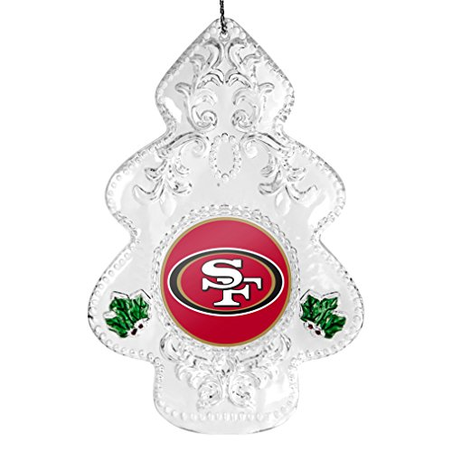NFL San Francisco 49ers Traditional Acrylic Tree Ornament (Tree Sports 49ers San Francisco)