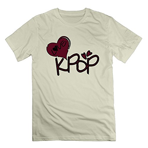 Nacustom Men's Love Kpop TXT & Heart -2 T-shirt