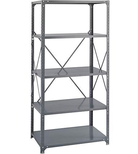 K&A Company 5 Shelf Storage Rack, 36'' x 75'' x 12'' x 22 lbs, 36 W x 12 D x 75 H by K&A Company (Image #6)
