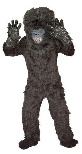 Scary Gorilla Costume (Gorilla Child Costume Small (4-6))