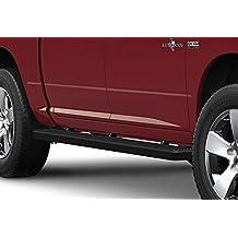 "Matte Black 4"" iBoard Running Boards Fit 09-17 Dodge Ram 1500/2500/3500 Crew Cab"