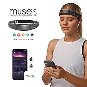 MUSE-S-The-Brain-Sensing-Headband-Guided-Meditation-and-Sleep-Multi-Sensor-Headset-Pre-Sleep-Tracker-with-Responsive-Audio-Feedback-Device-Monitors-Brain-Wave-Heart-Breath-Body-Activity