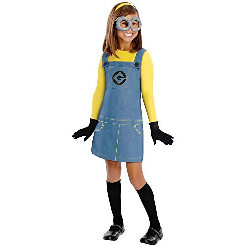 Overall Costumes Women (Female Minion Child Costume - Medium)