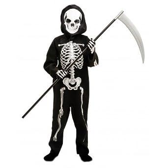 DISFRACES GILMAR Disfraz de Esqueleto zombie Infantil - 3-4 AÑOS ...