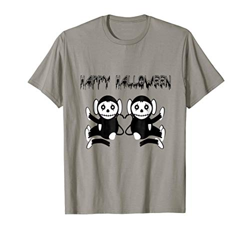 Dead Monkey Happy Halloween -