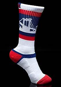 Strideline THE BAY Classic Athletic Crew Socks, One Size