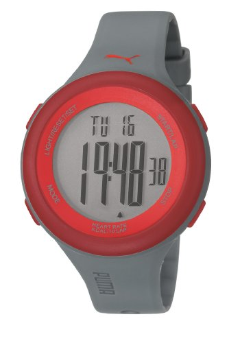 Puma PU910961003 Fit Matt Grey Red Watch
