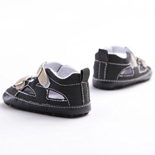 Tefamore Sandalias Zapatos Bebé De Cuna Suave Niños Niñas Recién Nacido(Una variedad de estilos y colores) E