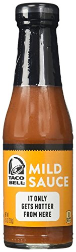 (Taco Bell Mild Sauce - 7.5 oz (Packaging May Vary))