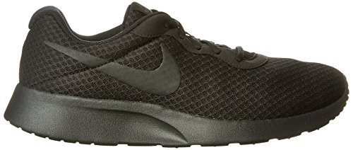 Nike Mens Tanjun Running Sneaker Black/Anthracite/Black 12