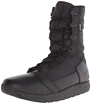 50122 Danner Men's Tachyon 8IN GTX Uniform Boots - Black - 3.0 - D