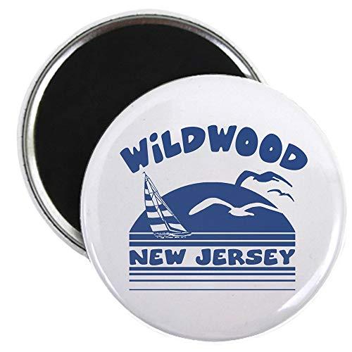 CafePress Wildwood New Jersey 2.25