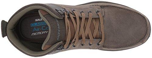 Skechers Men's Garton Dodson Ankle Bootie Charcoal wide range of cheap online BPEP3