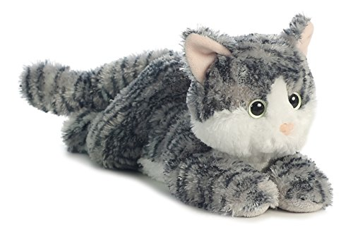 Aurora World Flopsie Cat/Lily Plush