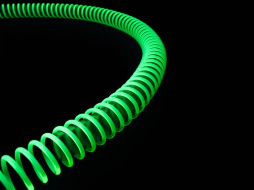 PrimoChill Anti-Kink Coils 1/2in.- UV Brite Green - Anti Kink Tubing