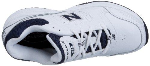 New Balance Jungen 623 Kurzschaft Stiefel, Bianco (White/Navy), 38