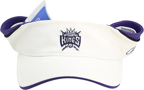 NBA Reebok Sacramento Kings ''Logo Series'' Adult Adjustable Velcro Back Visor by Reebok