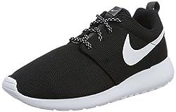 Nike W Roshe One Womens Running-shoes 844994-002 Blackwhite-dark Grey 8.5